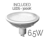 LEDS6.5W type bulb included.