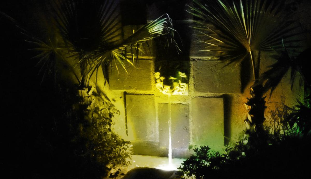 Scarnati illuminazione illuminazione alberi da giardino