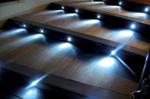terrasse illuminée encastrés Easy Connect