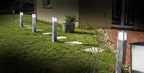 balises inox jardin Easy Connect